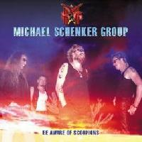 The Michael Schenker Group Beware of Scorpions Album Cover