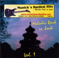 [Compilations Munich's Hardest Hits - Melodic Rock Is Back 1 Album Cover]