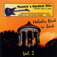 [Compilations Munich's Hardest Hits - Melodic Rock Is Back 2 Album Cover]