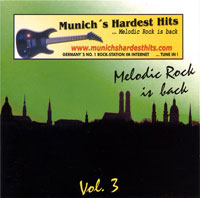 [Compilations Munich's Hardest Hits - Melodic Rock Is Back 3 Album Cover]
