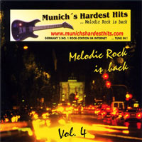 [Compilations Munich's Hardest Hits - Melodic Rock Is Back 4 Album Cover]