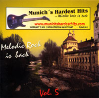 [Compilations Munich's Hardest Hits - Melodic Rock Is Back 5 Album Cover]