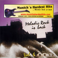 [Compilations Munich's Hardest Hits - Melodic Rock Is Back 6 Album Cover]