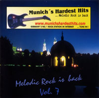 [Compilations Munich's Hardest Hits - Melodic Rock Is Back 7 Album Cover]