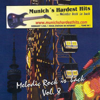[Compilations Munich's Hardest Hits - Melodic Rock Is Back 8 Album Cover]