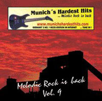 [Compilations Munich's Hardest Hits - Melodic Rock Is Back 9 Album Cover]