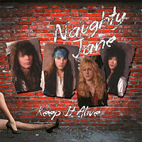 [Naughty Jane Keep It Alive Album Cover]