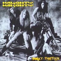[Naughty Naughty Lucky Thirteen Album Cover]