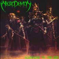 [Necrodemon Allegiance To The End Album Cover]