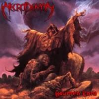 [Necrodemon Haunted Eons Album Cover]