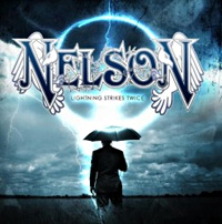 [Nelson Lightning Strikes Twice Album Cover]