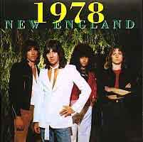 [New England 1978 Album Cover]
