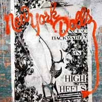[New York Dolls Dancing Backward in High Heels Album Cover]