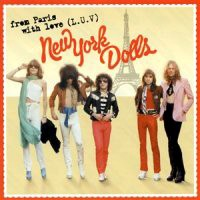 [New York Dolls From Paris With Love (L.U.V.) Album Cover]