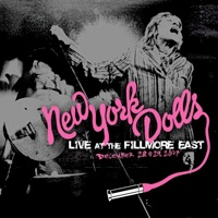 New York Dolls Live At the Fillmore East Album Cover