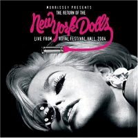 [New York Dolls Live From Royal Festival Hall 2004 Album Cover]
