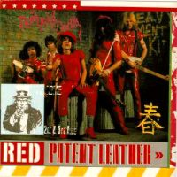 [New York Dolls Red Patent Leather Album Cover]