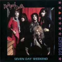 [New York Dolls Seven Day Weekend Album Cover]