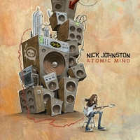 [Nick Johnston Atomic Mind Album Cover]