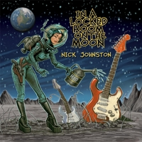 [Nick Johnston In a Locked Room on the Moon Album Cover]