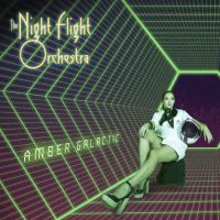 The Night Flight Orchestra Amber Galactic Album Cover