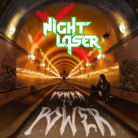 Night Laser Power to Power Album Cover