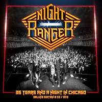 Night Ranger 35 Years And A Night In Chicago Album Cover