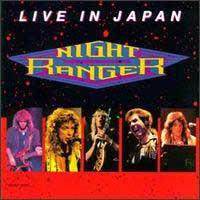 [Night Ranger Live in Japan Album Cover]