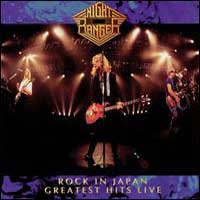 [Night Ranger Rock in Japan Greatest Hits Live Album Cover]