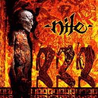 [Nile Amongst the Catacombs of Nephren-Ka Album Cover]