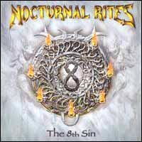 [Nocturnal Rites The 8th Sin Album Cover]