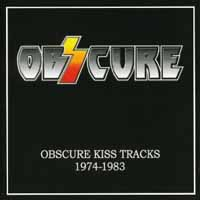 [Obzcure Obscure Kiss Tracks 1974-1983 Album Cover]