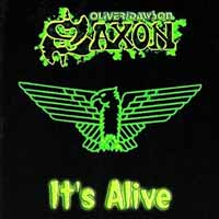 [Oliver/Dawson Saxon It's Alive Album Cover]