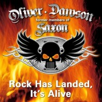 Oliver/Dawson Saxon It's Alive Album Cover