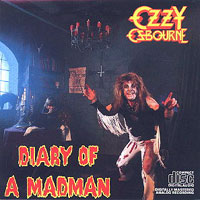 Ozzy Osbourne Diary of a Madman Album Cover
