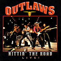 [The Outlaws Hittin' the Road Album Cover]