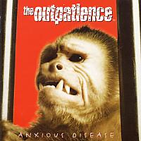 [The Outpatience Anxious Disease Album Cover]
