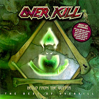 [Overkill Hello From The Gutter - The Best Of Overkill Album Cover]