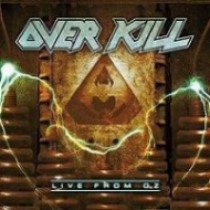 [Overkill Live From OZ Album Cover]