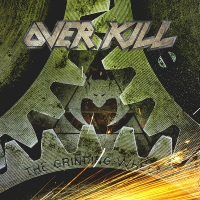 [Overkill The Grinding Wheel Album Cover]