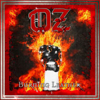 [OZ Burning Leather Album Cover]