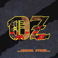[OZ Decibel Storm Album Cover]