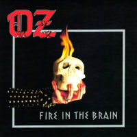 [OZ Fire In The Brain Album Cover]
