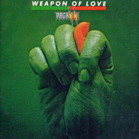 [Paganini Weapon of Love Album Cover]