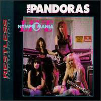 [The Pandoras Live - Nymphomania Album Cover]