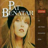 [Pat Benatar 36 All-Time Greatest Hits Album Cover]
