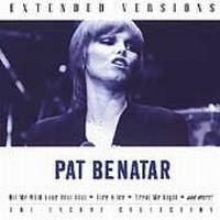 [Pat Benatar Extended Versions (Live) Album Cover]