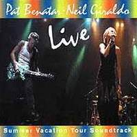 [Pat Benatar Summer Vacation 2001 (Live) Album Cover]