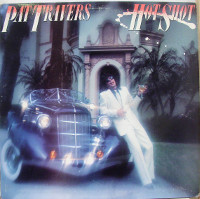 [Pat Travers Hot Shot Album Cover]