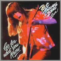 [Pat Travers Live: Go For What You Know Album Cover]